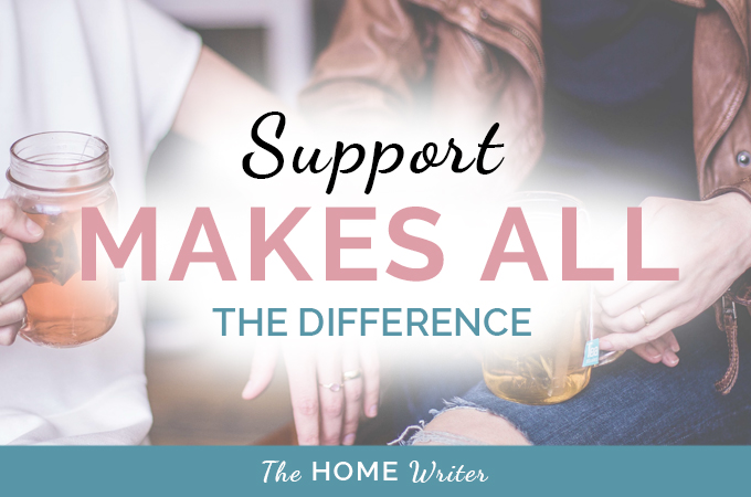 Support Makes All the Difference