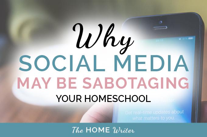 sabotaging your homeschool