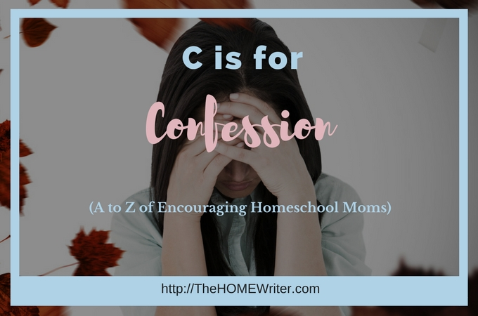 C is for Confession