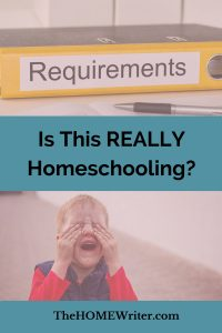 Is this really homeschooling?