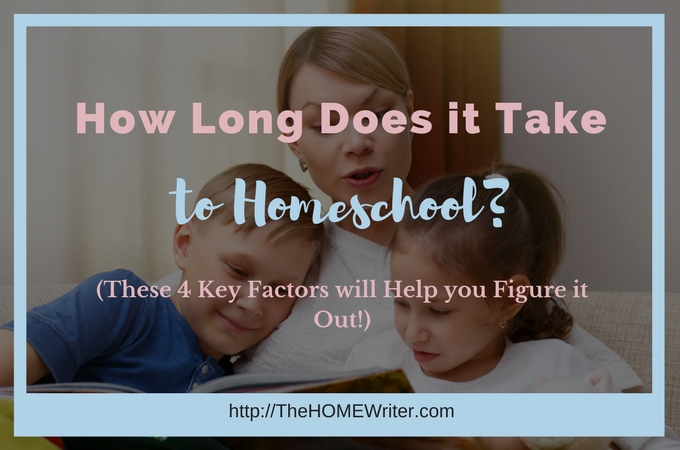 How long does it take to homeschool?